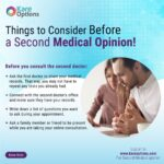 getting a second opinion from a doctor